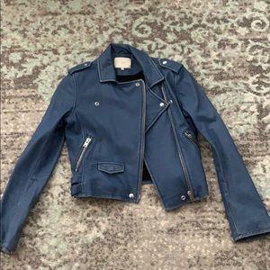 Iro Distressed Leather Jacket